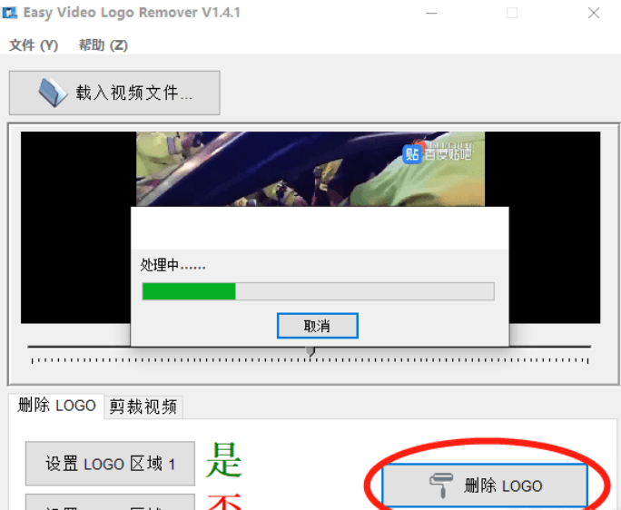 Easy Video Logo Remover视频去水印神器